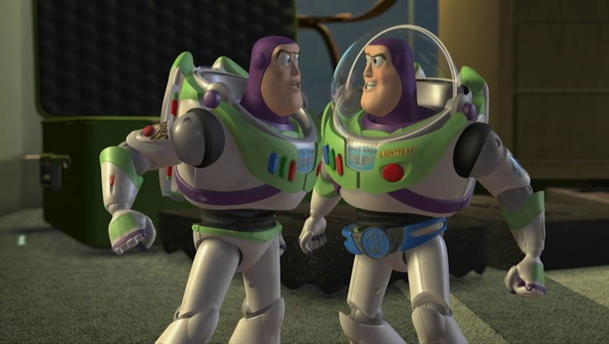 "I was going to make a horrible pun about Pixar taking its characters ""to infinity and beyond,"" but I won't."