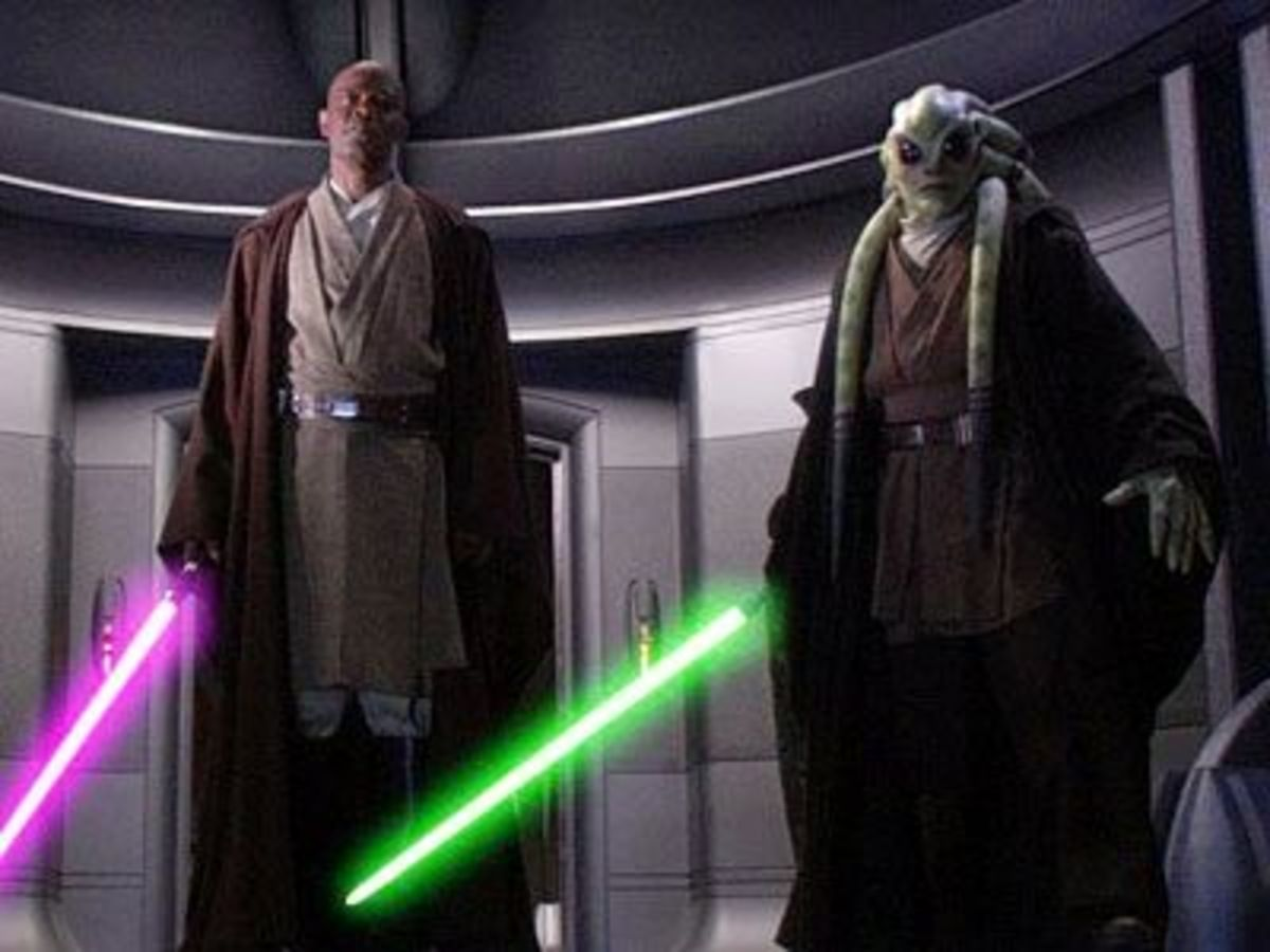 Kit Fisto (the one on the right)