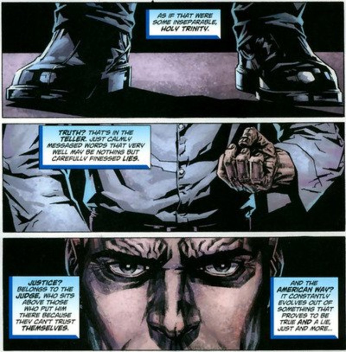 Lex mocks Truth, Justice and the American Way
