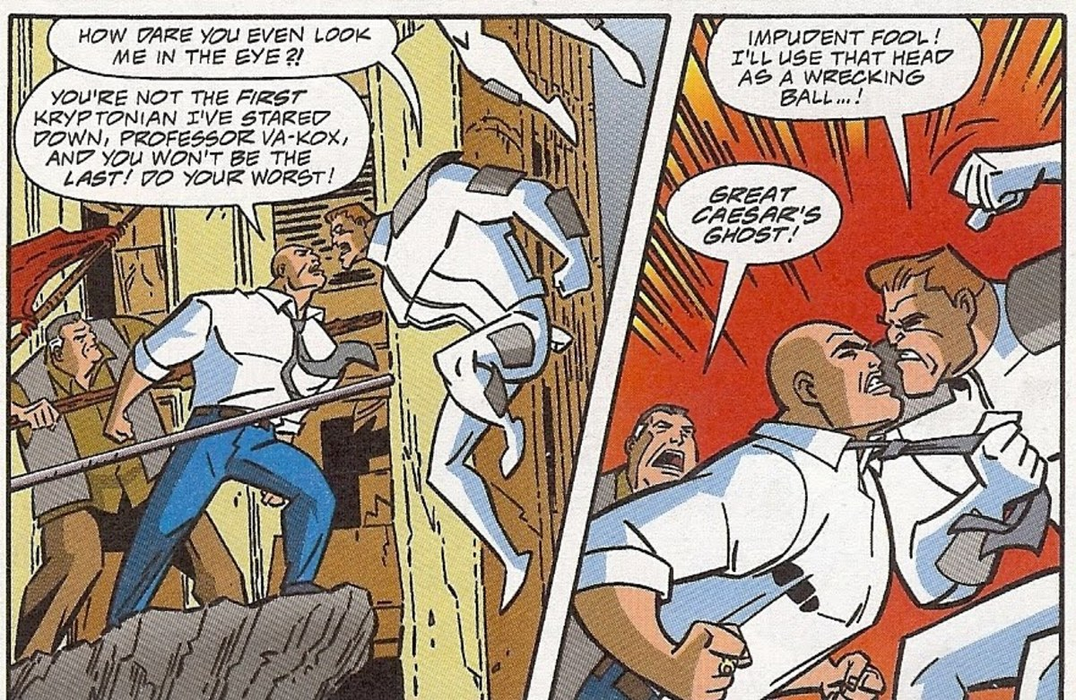 Lex fearless against a Kryptonian