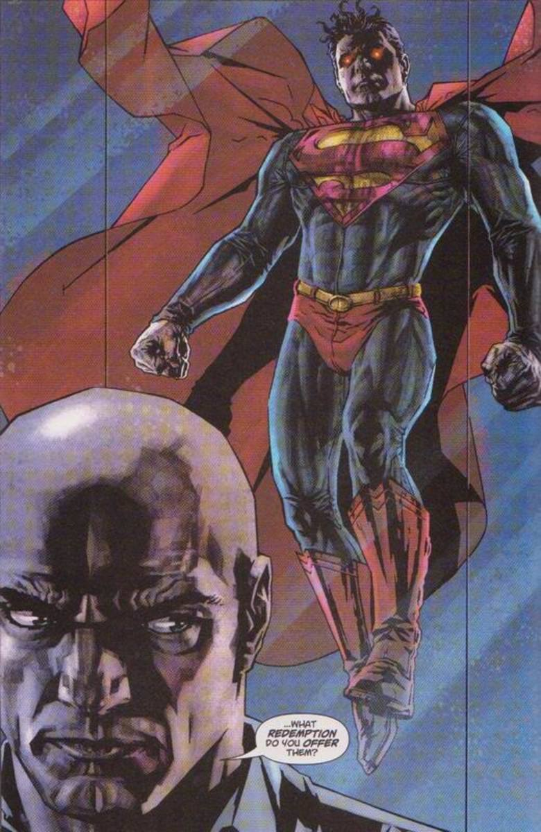Superman as Lex sees him