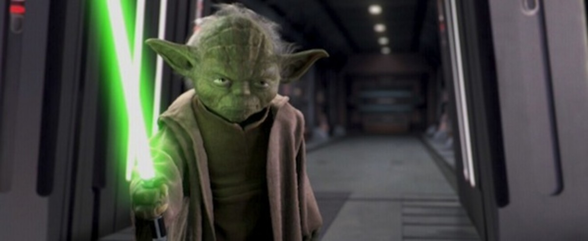 Pictured: Yoda, not taking any crap.
