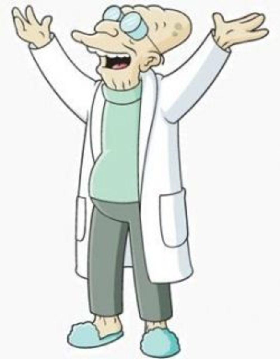 Intelligent Professor Farnsworth