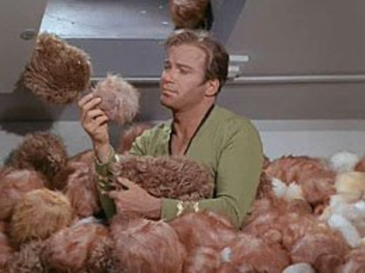 The trouble is, there's so damn many Tribbles!
