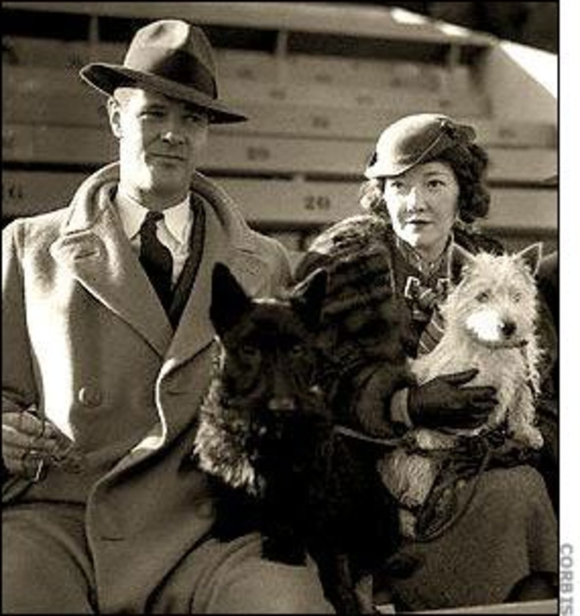 Paul Kelly with Dorothy Mackaye