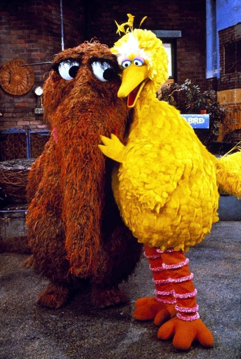 Snuffy and Bird - BFF's forever!