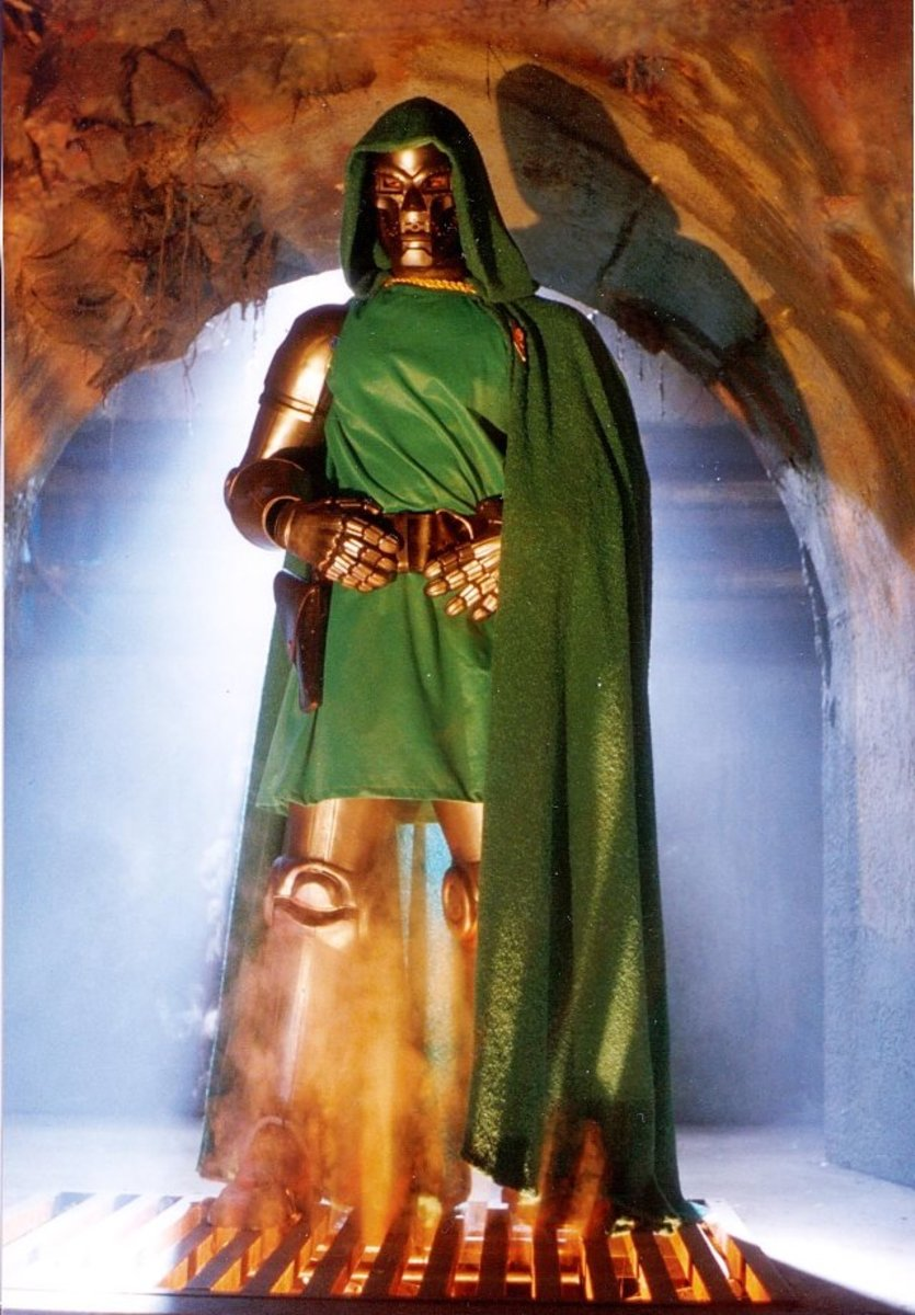 "Doctor Doom: ""Does this cape make me look fat?"""