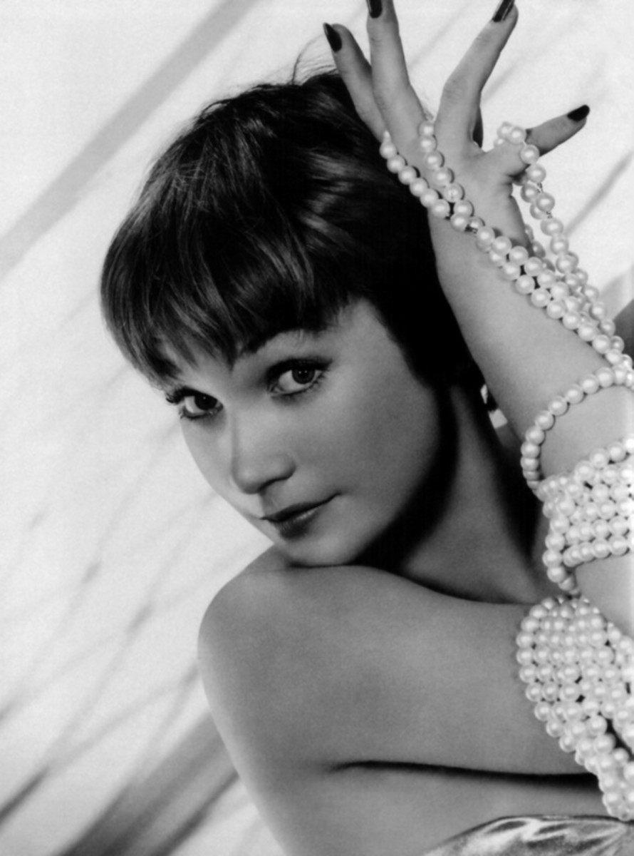 A Younthful Martha Levinson Demonstrating the 'Levinson Charm' (Shirley Maclaine)
