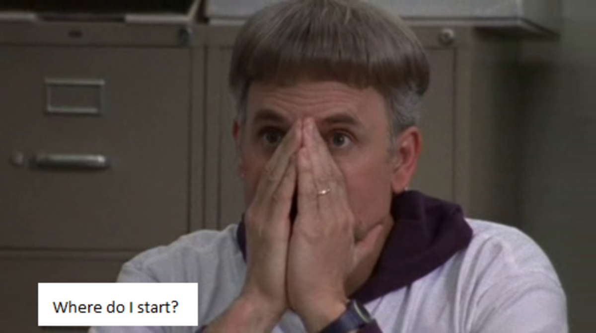 "I imagine the small-town play director from ""Waiting for Guffman"" (Christopher Guest) reacting to the scene as he did to the auditions during ""Waiting"""