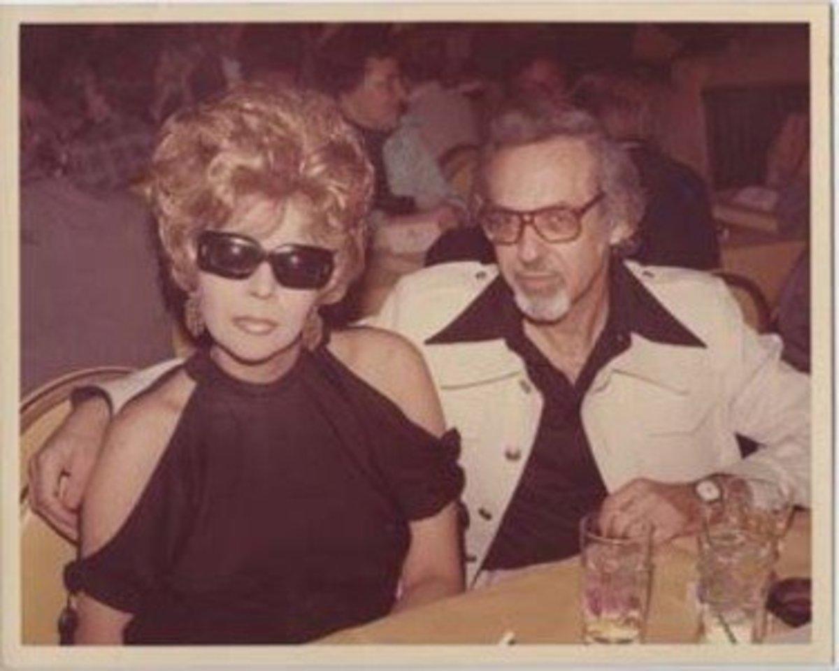 Linda and Burt in the 70s