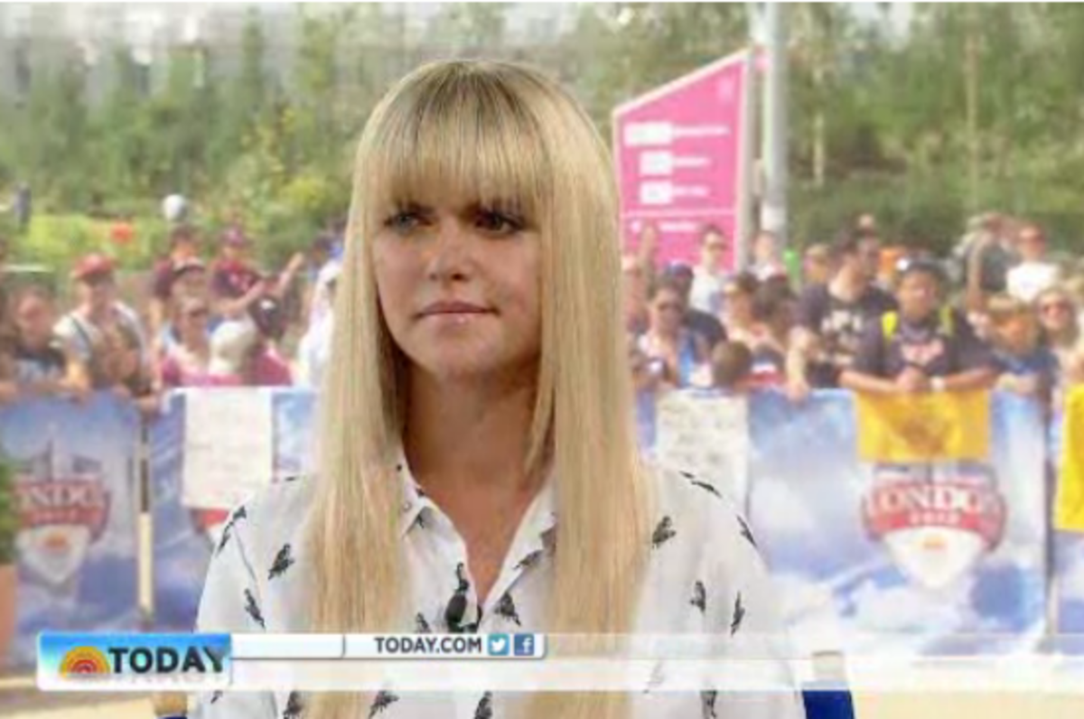 Lauren Scruggs—Months after the accident in an interview