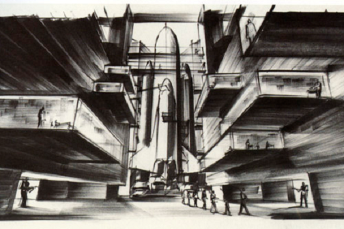 Ken Adam's Design for Moonraker