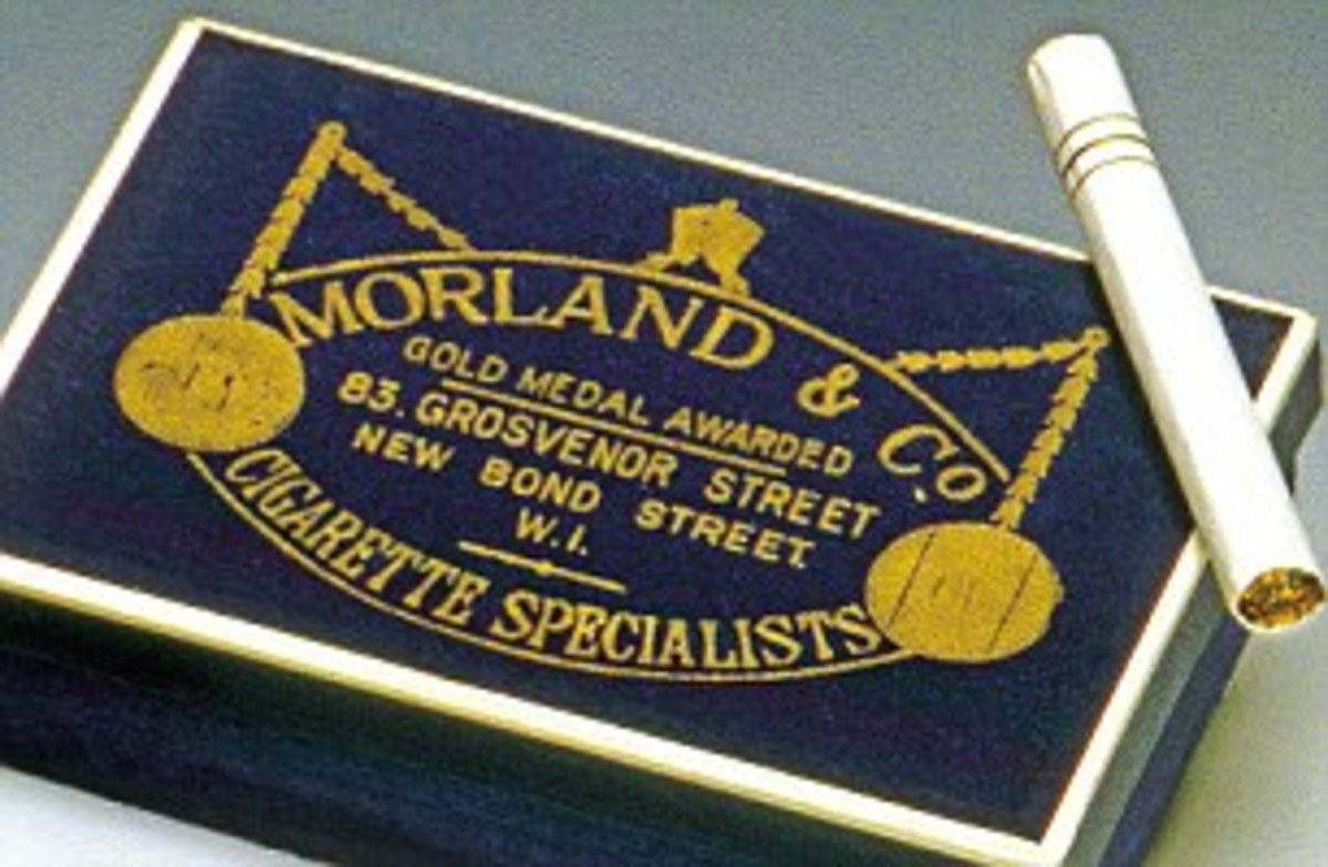 Morlands of Grosvesnor Street Cigarettes