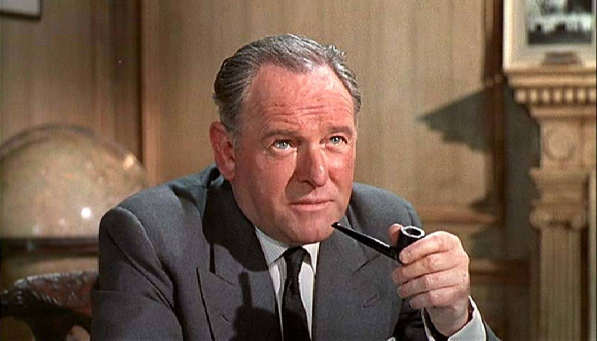 Bernard Lee as 'M'