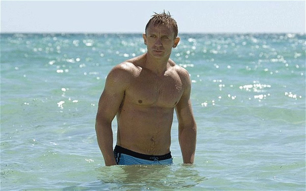 I realise most Bond fans are men, so here's something to lure the ladies.