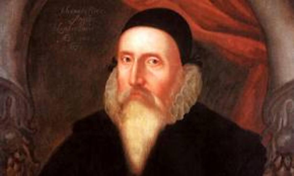 John Dee ( Elizabethan Spy?)
