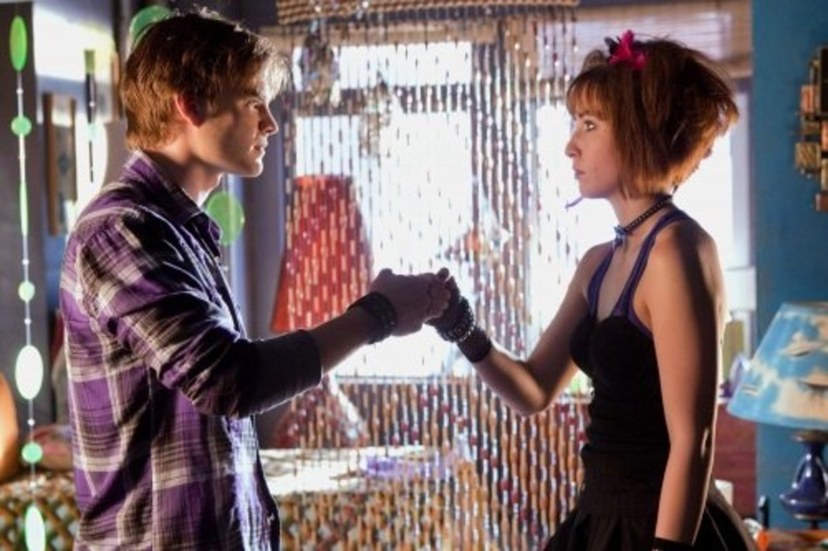 Wonder Twins: David Gallagher (Zan) & Allison Scagliotti (Jayna)