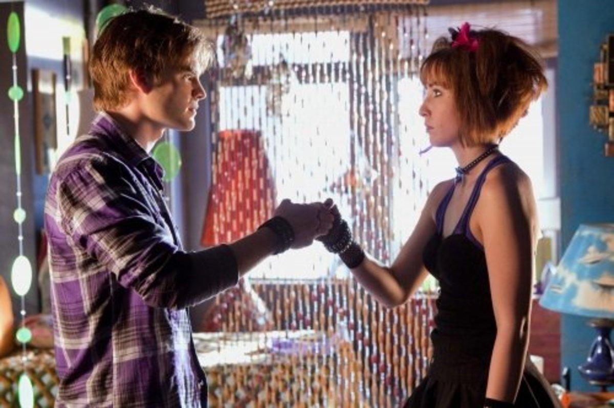 Wonder Twins: David Gallagher (Zan) & Allison Scagliotti (Jayna)