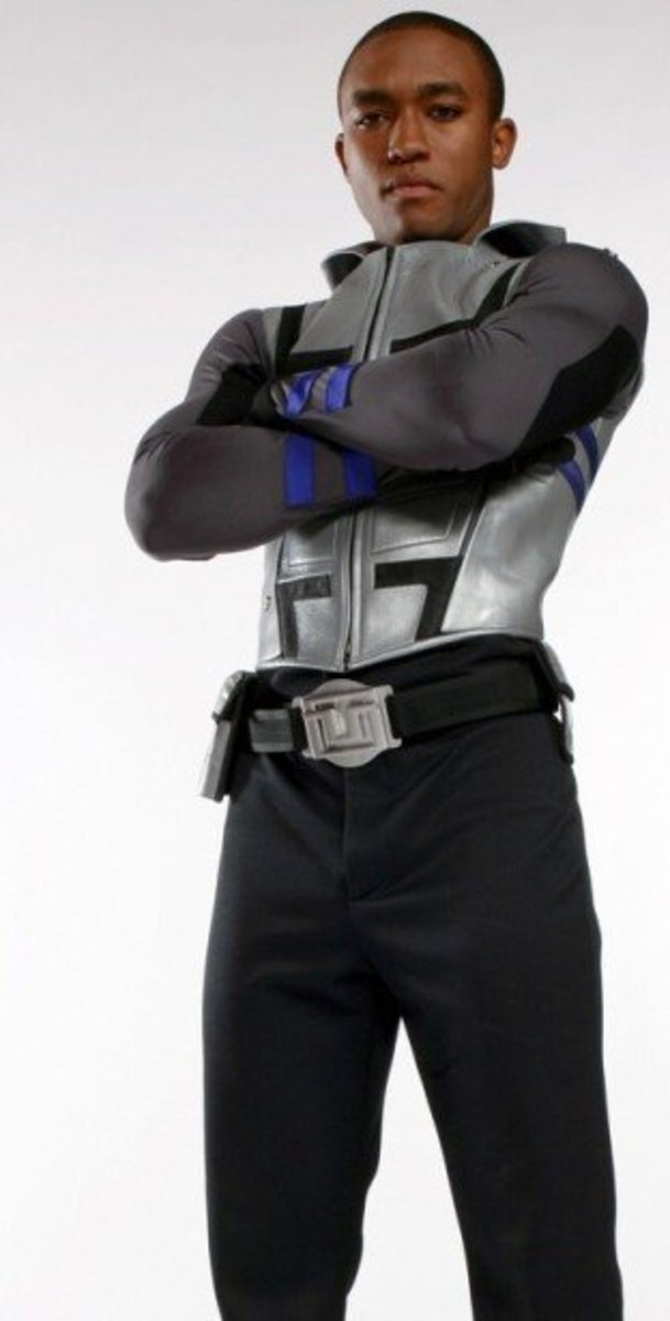 Lee Thompson Young as Cyborg in Smallville