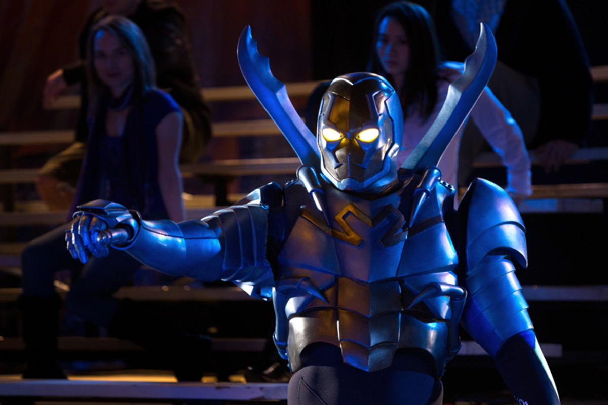Jaren Brandt Bartlet as Blue Beetle