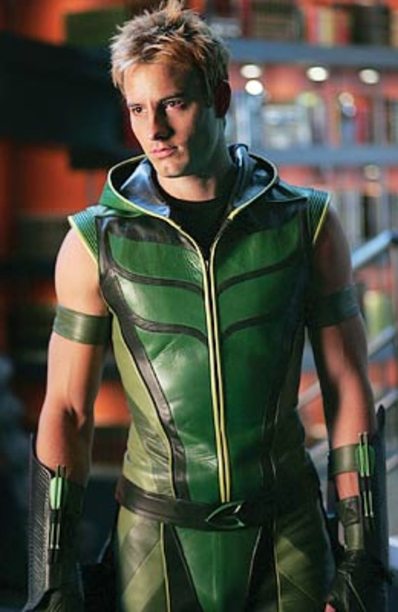 Justin Hartley as Green Arrow