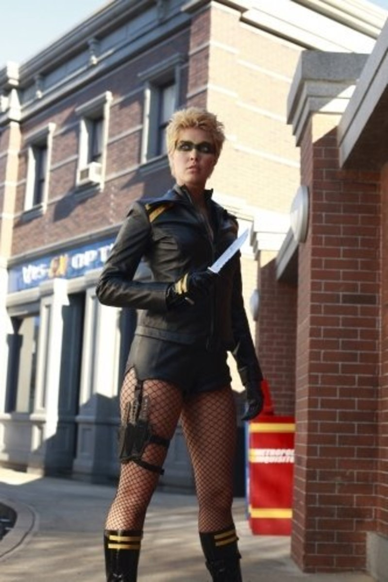 Alaina Huffman as Black Canary