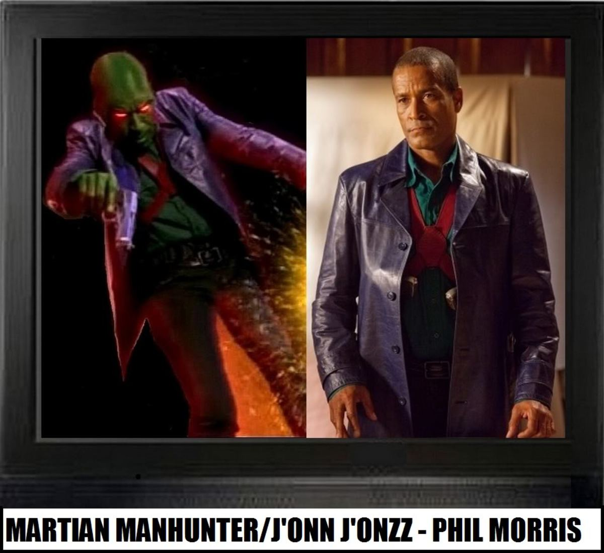 Phil Morris as Martian Manhunter