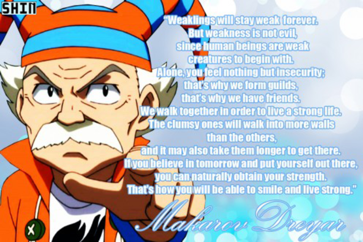 Makarov Dreyar's famous quote in picture form.