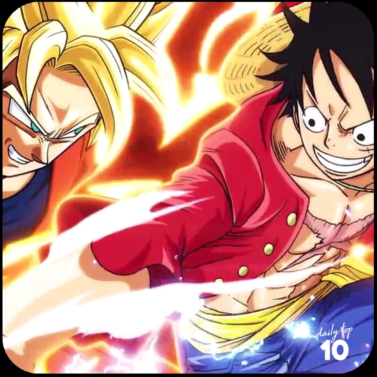 Monkey D. Luffy vs Son Goku