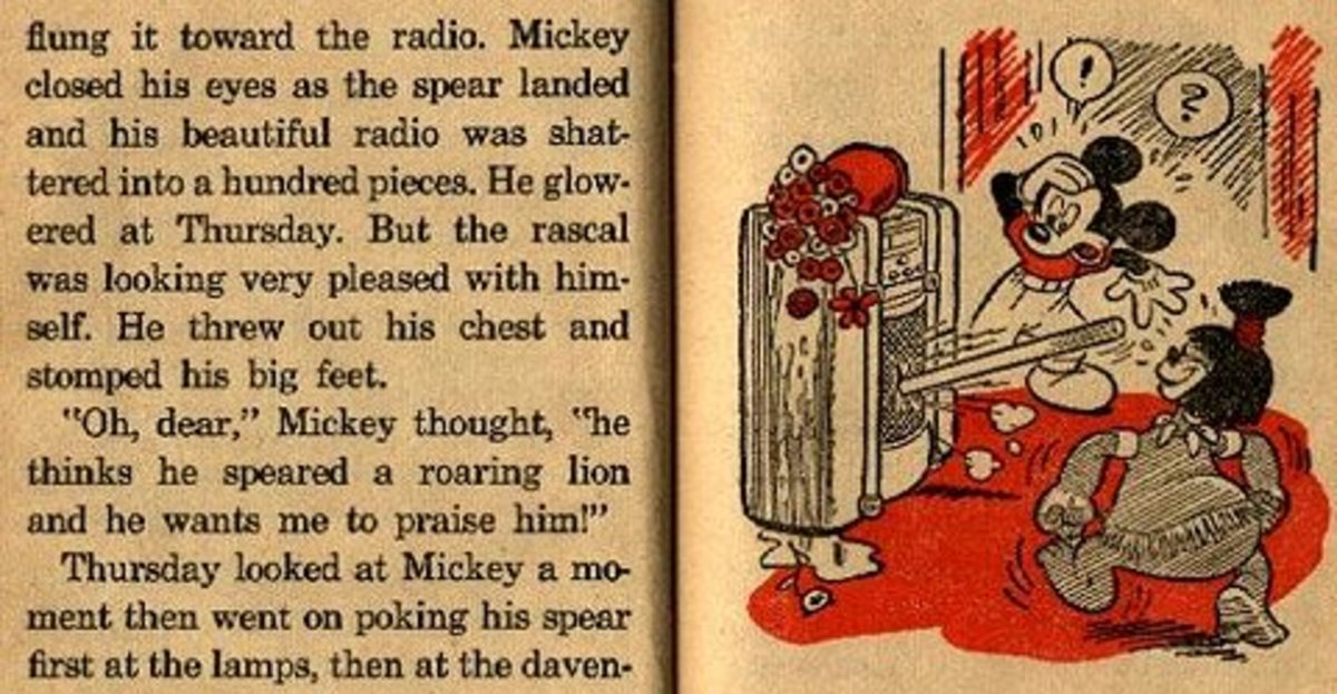 "In 1948 Disney published a children's book called ""Mickey Mouse and the Boy Thursday"" that followed beloved cartoon character, Mickey Mouse, and his West African ""friend"", Thursday."