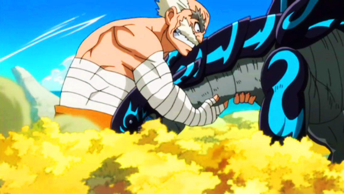 Makarov Dreyar trying to stop Acnologia.