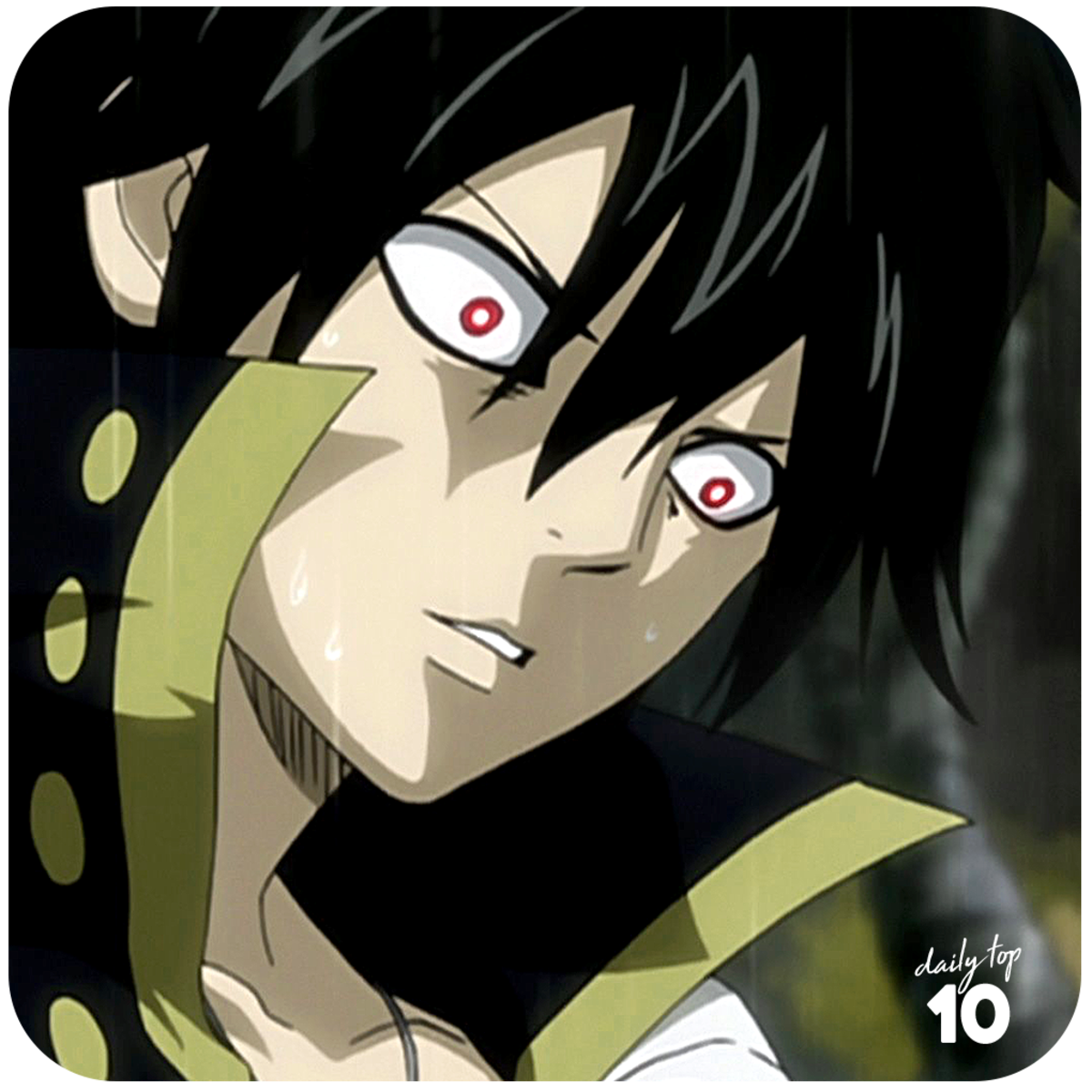 Zeref Dragneel shocked.