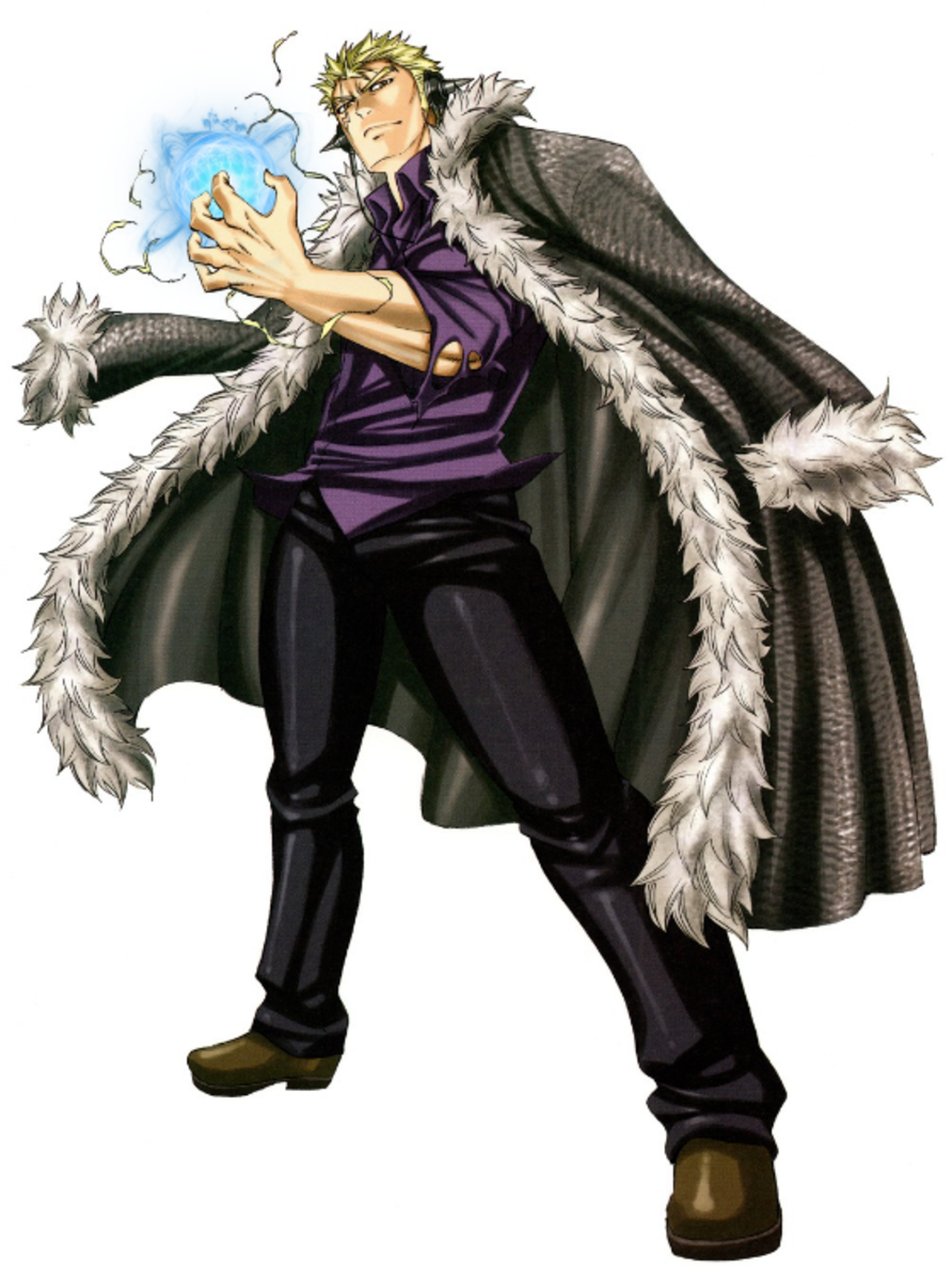 Laxus Dreyar full body photo.
