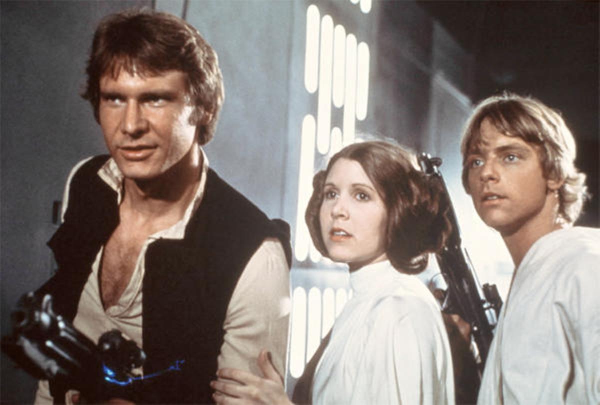 The stars of George Lucas' groundbreaking masterpiece.