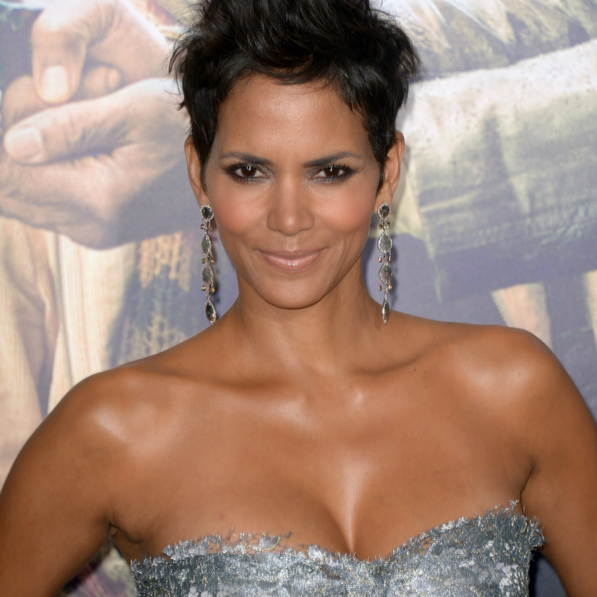 A beautiful Halle Berry