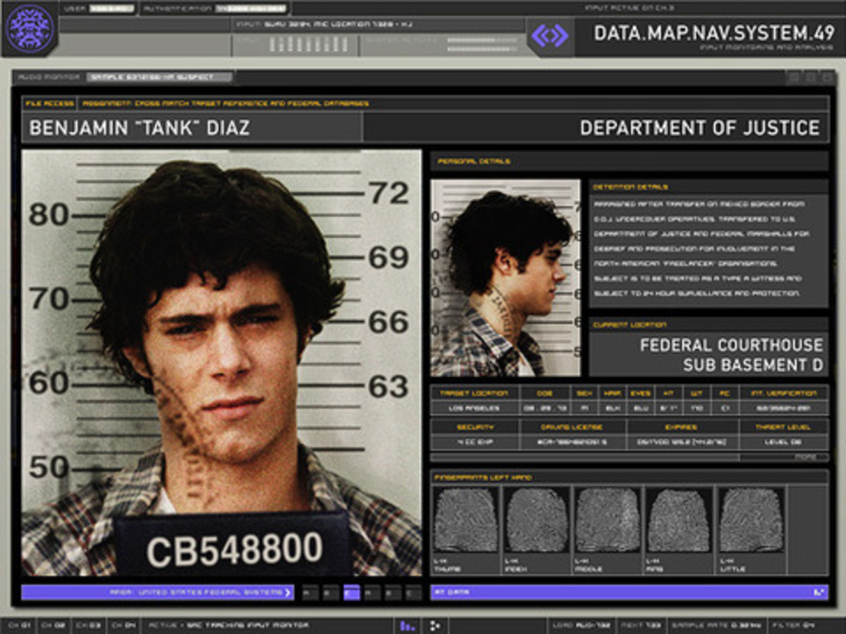 """""""Fake FBI criminal profile from Mr. and Mrs. Smith"""""""
