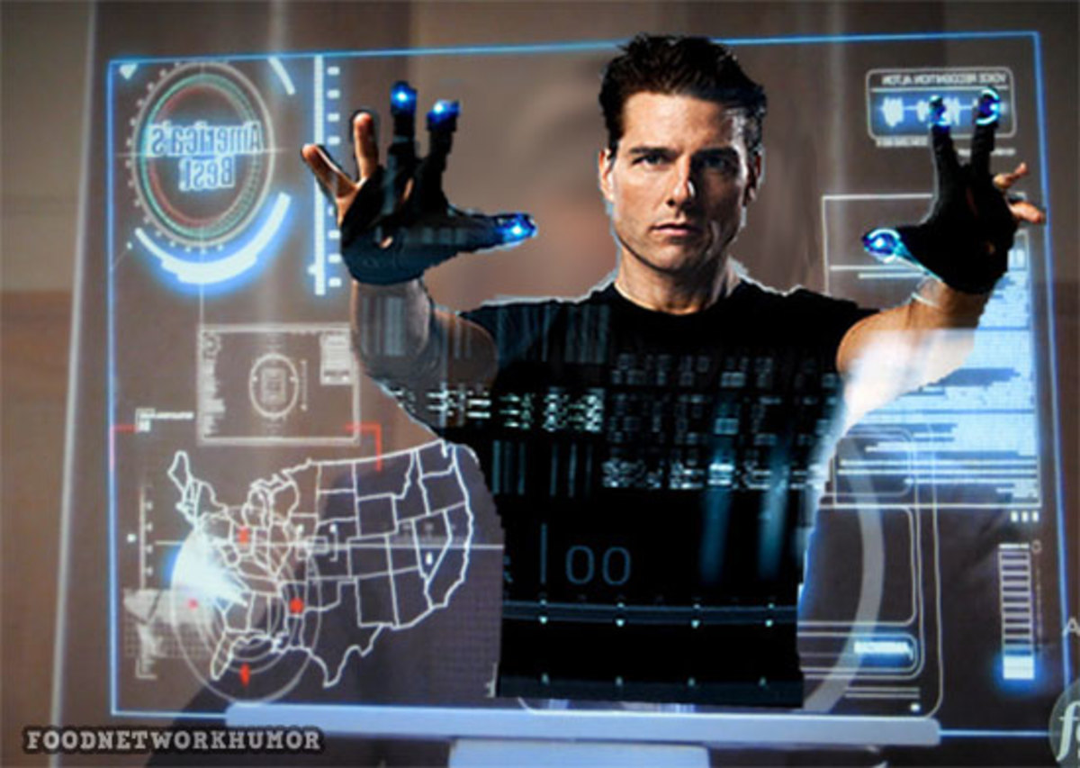 """Tom Cruise operating one of the weirdest GUIs in The Minority Report"""