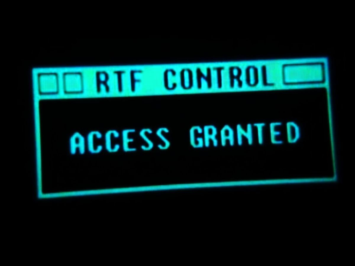 """Fictional GUI from Matrix Reloaded"""