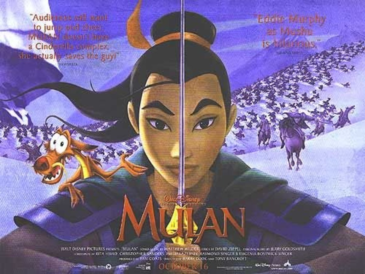 Alternate Disney's Mulan movie poster
