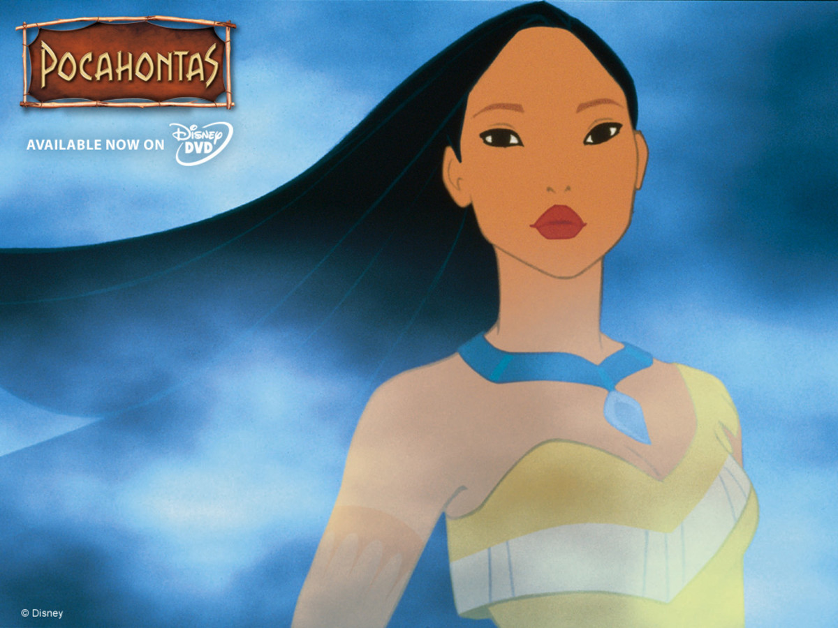 Disney's Pocahontas promotional graphic