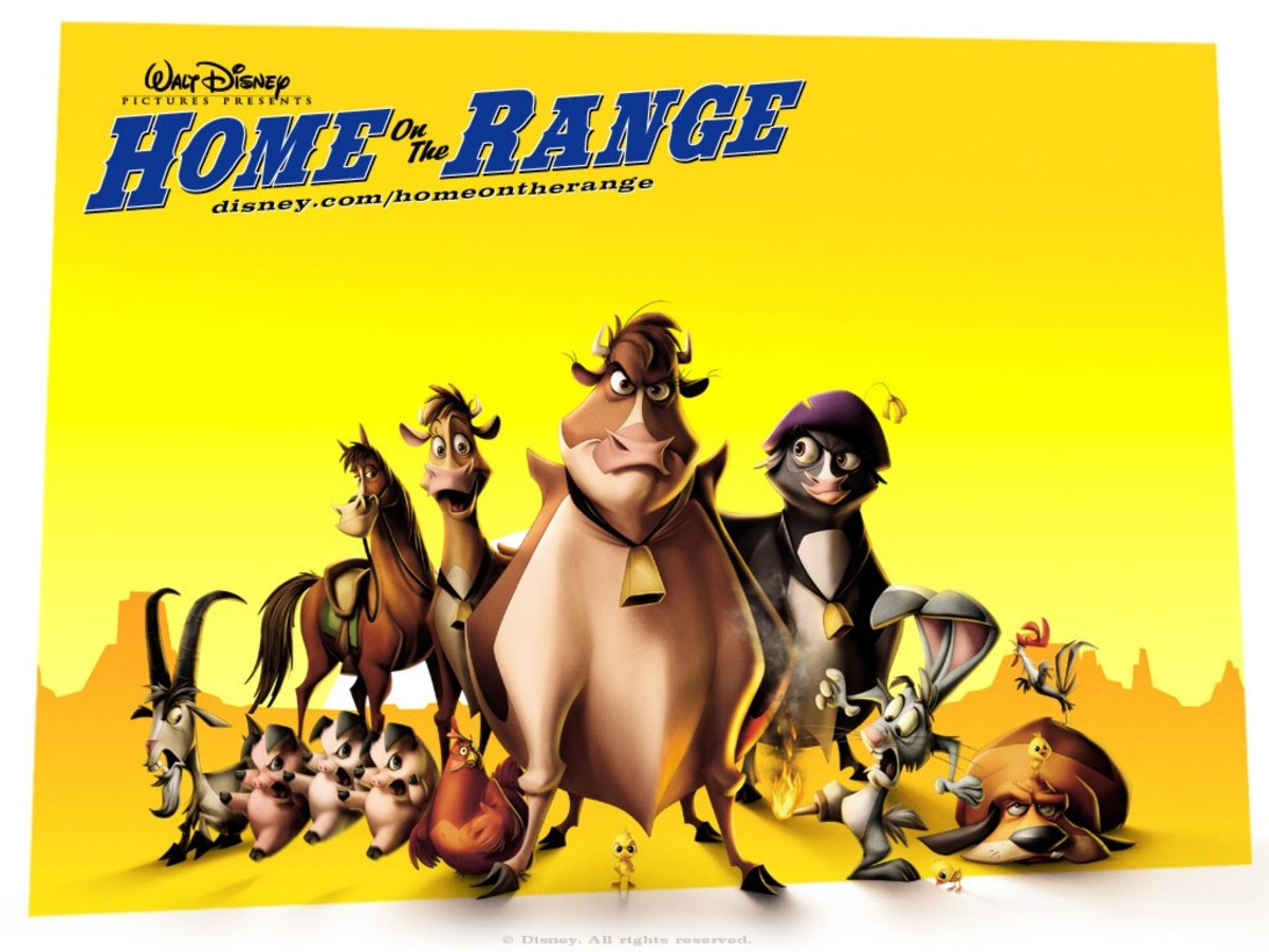 Home on the Range promotional movie poster