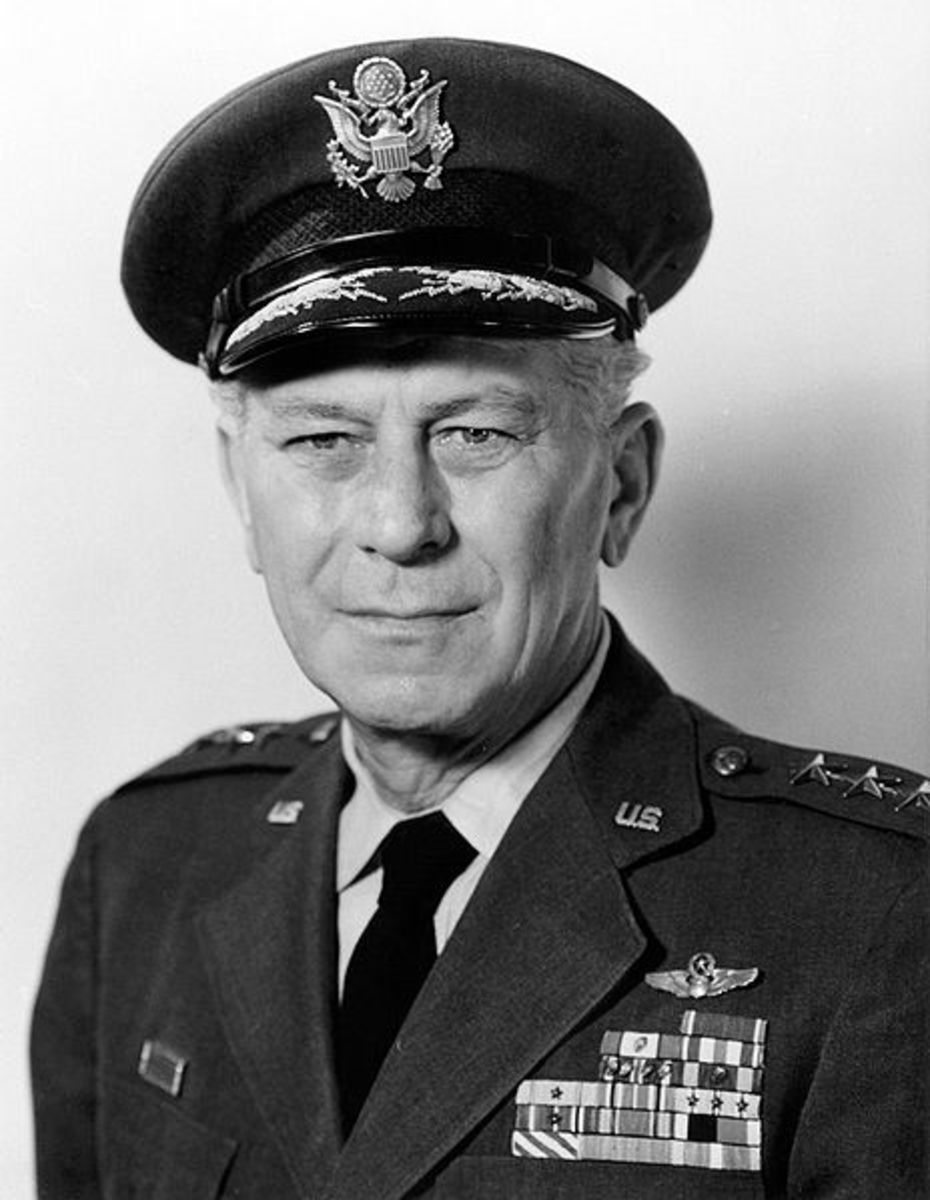 General Frank A. Armstrong is the real man depicted as Frank Savage and played by Gregory Peck in 12 O'clock High.
