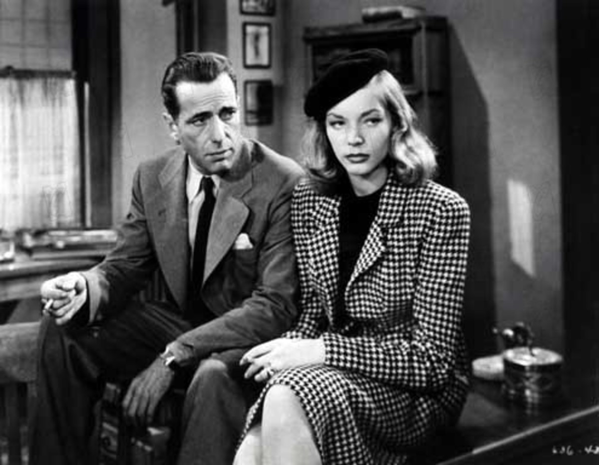 "Scene from ""The Big Sleep"""