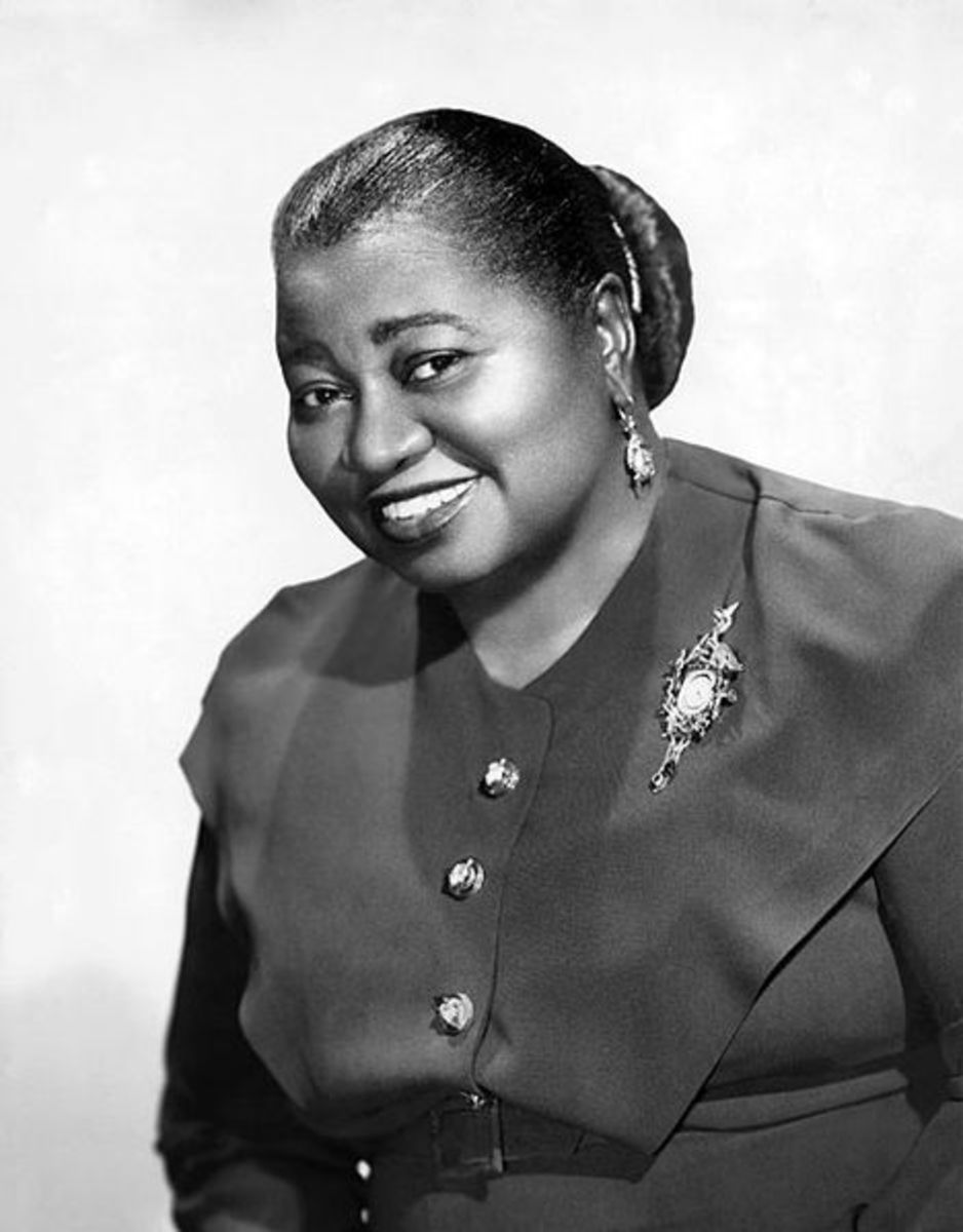 Oscar winner Hattie McDaniel in 1939
