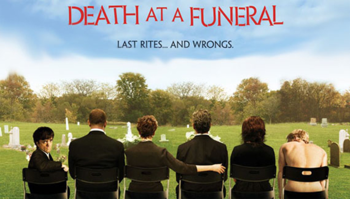 "If only every funeral were this amusing the deceased would be boasting, ""You'll never guess how I went out!"""