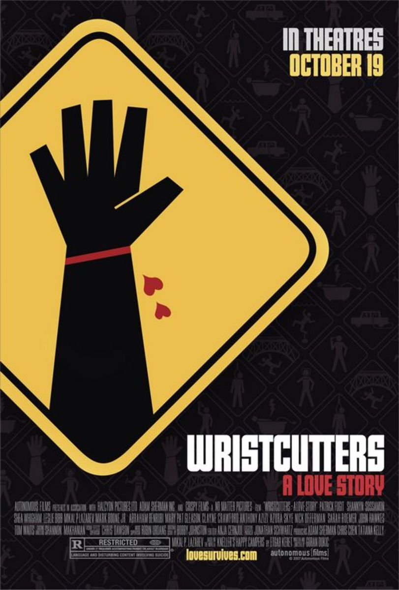 Wristcutters: A Love Story - possibly the sweetest movie ever to start with slashed wrists.
