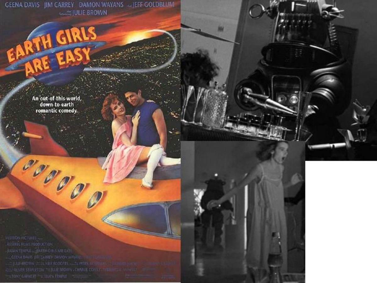 Robby The Robot In Earth Girls Are Easy