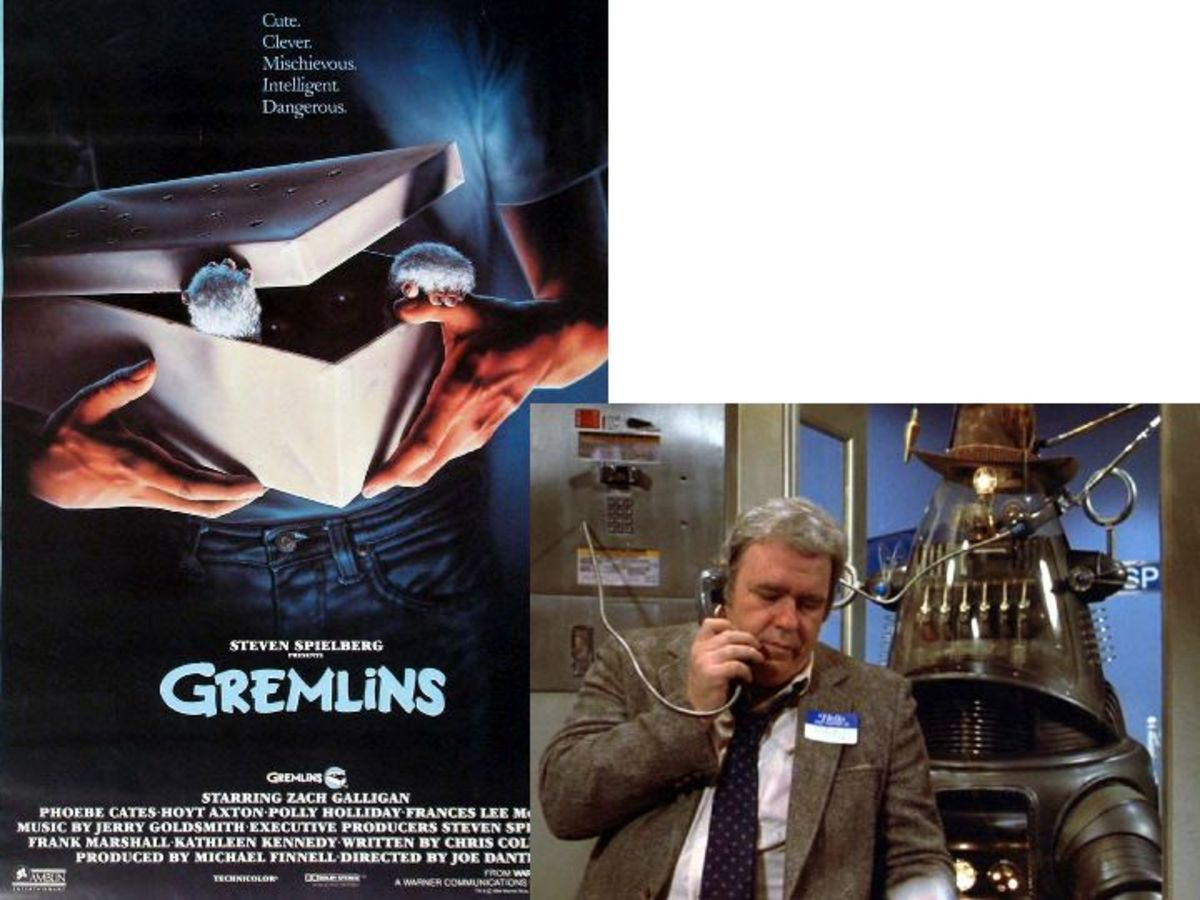 Robby The Robot in Gremlins