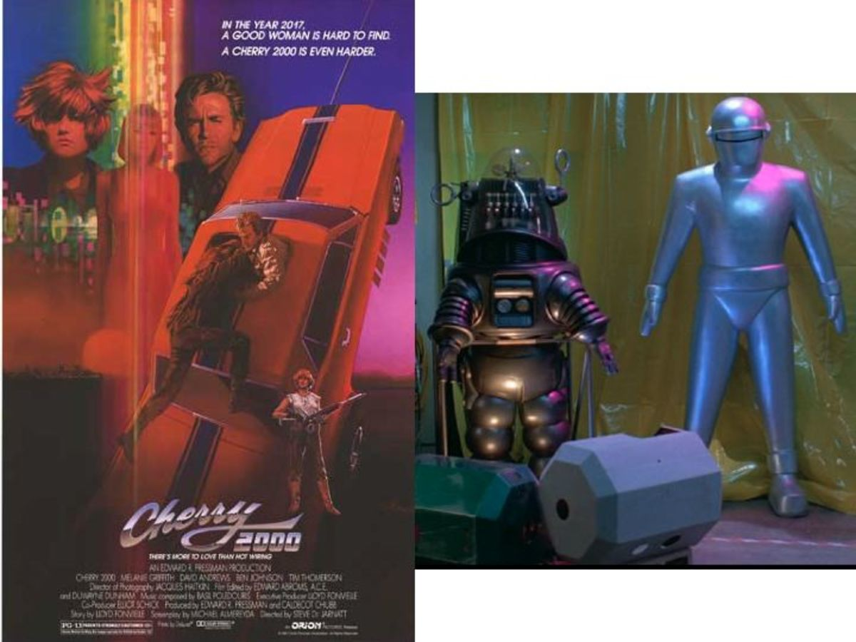 Robby The Robot in Cherry 2000
