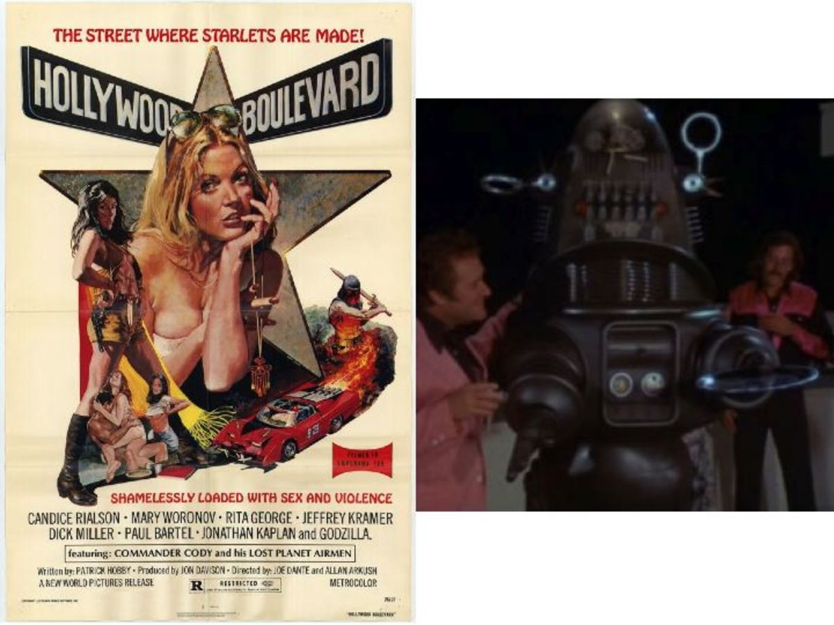 Robby The Robot In Hollywood Boulevard